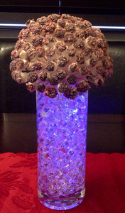 LED edible centerpiece