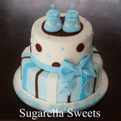 Babyshower boy cake ideas