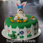 Easter bunny/rabbit cake