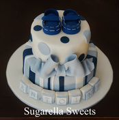 baby shower cake for boys