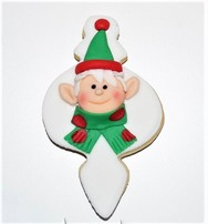 Christmas Elf cookie