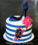 Stiletto shoe cake