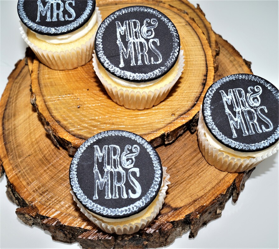 mr & mrs cookies
