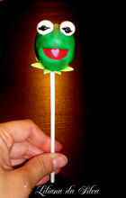 kermit the frog cake pop