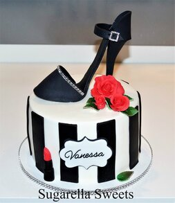 Stilleto shoe cake