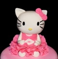hello kittie cake topper